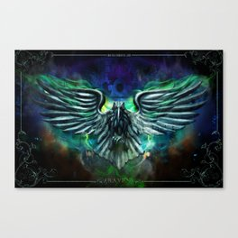 Raven by Topher Adam 2011 Canvas Print