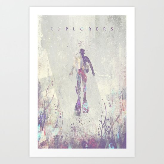 Explorers VI Art Print