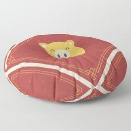 Year of the Pig Floor Pillow