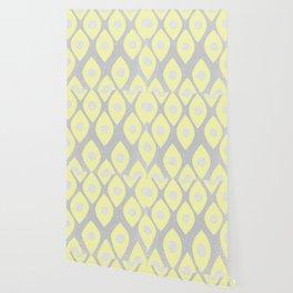 Eye Pattern Yellow Wallpaper