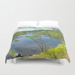 Magnificent tranquil river Duvet Cover