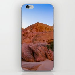 Colorful Sandstone, Valley of Fire - III iPhone Skin