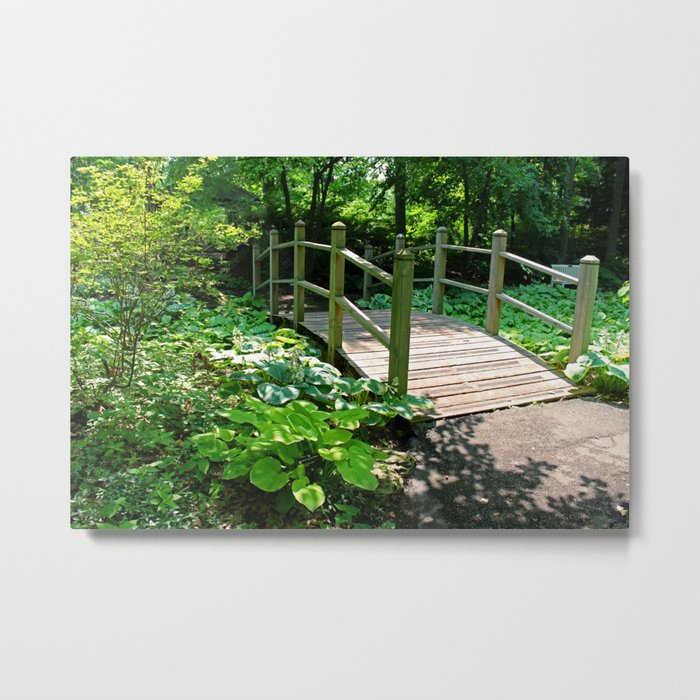 Forest Fervency Metal Print