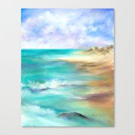 Naples Sands Canvas Print