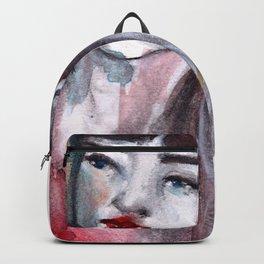 Fille rouge Backpack