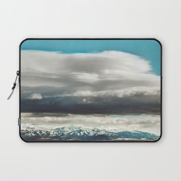 Crazy Mountain Cloud Cover Laptop Sleeve