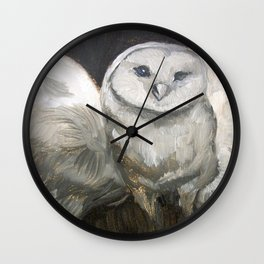 Odin The Owl Wall Clock