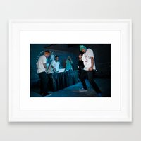 odd future Framed Art Prints featuring Odd Future, 2011. by Josh Sisk Photography