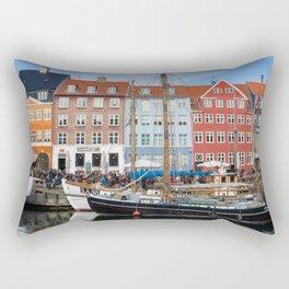 Sunny Nyhavn Rectangular Pillow