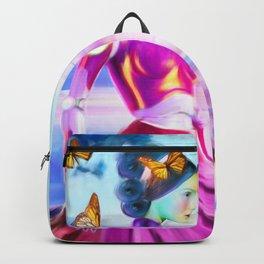 Robot Painting: Singularity Dream Backpack