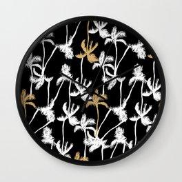 Summer nights Wall Clock