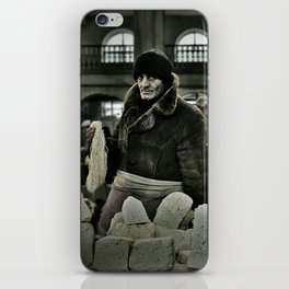 Cheese Seller iPhone Skin
