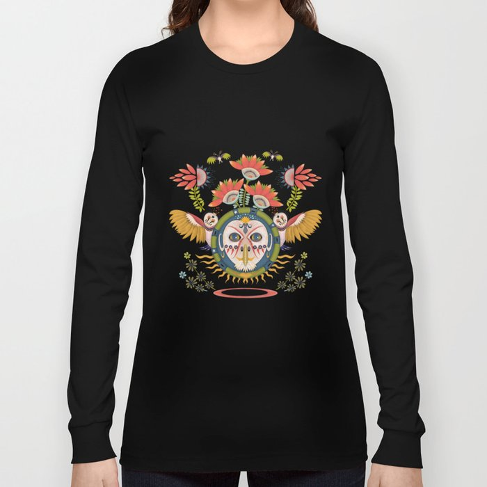 Inca Owl Long Sleeve T-shirt