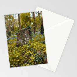 Tombstone in Highgate Stationery Cards