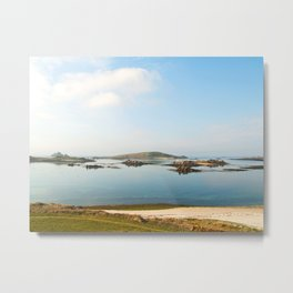 Summer in the Scillies Metal Print