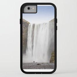 Skógafoss Waterfall iPhone Case