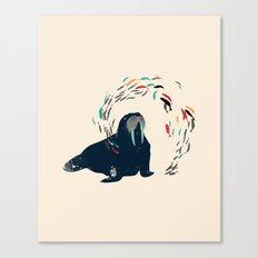 Walrus. Canvas Print