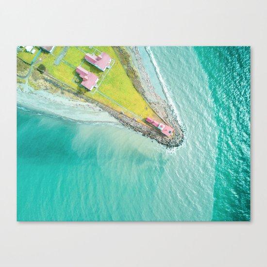 Green Island Canvas Print