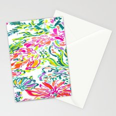 Watercolor Florals Stationery Cards