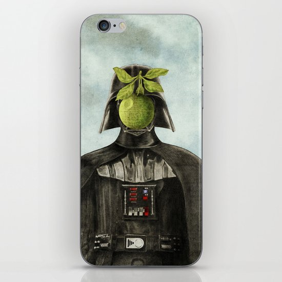 Son of Darkness iPhone & iPod Skin