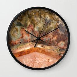 Idaho Gem Stone 11 Wall Clock