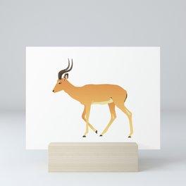 Peaceful Antelope Mini Art Print