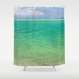 Tranquility: Caladesi Island, FL Shower Curtain