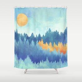 Frozen Forest Shower Curtain