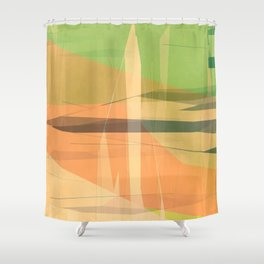 Color world 1 Shower Curtain