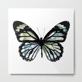 Watercolor Wings Metal Print