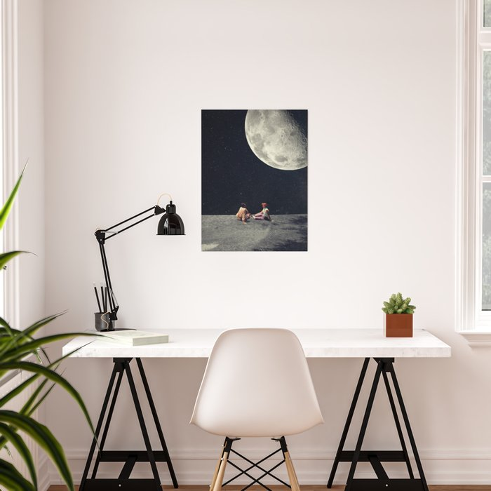 I Gave You the Moon for a Smile Poster