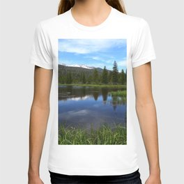 Peaceful Beaver Ponds View T-shirt