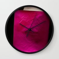 rothko Wall Clocks featuring rothko  by fotosbygf
