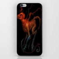 demon iPhone & iPod Skins featuring demon by Yoncho Yonchev