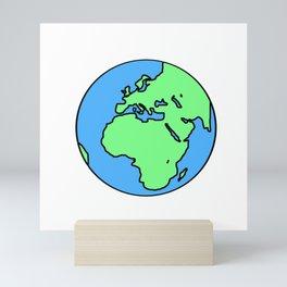 Earth Mini Art Print