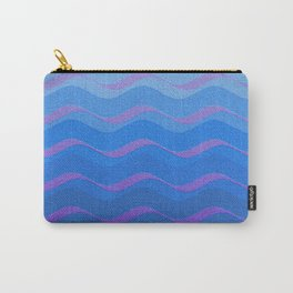BLUE WAVE Carry-All Pouch
