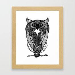 Hoot Owl! Framed Art Print