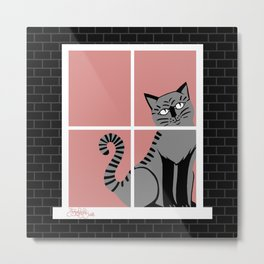 Poppyseedpasta, House of Cats Metal Print