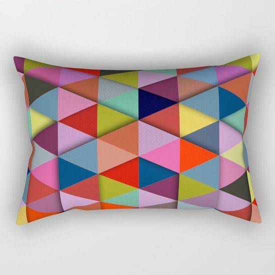 Abstract #274 Rectangular Pillow