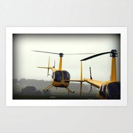 Chopper Mania Art Print