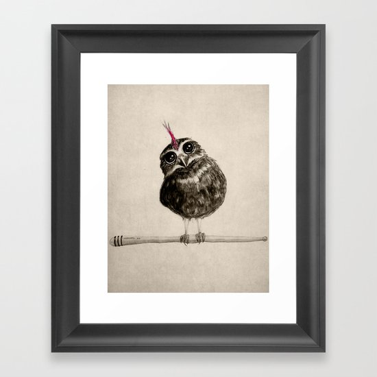 Punk Framed Art Print