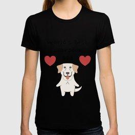 World's Best Labrador Dad   Cute Dog Father Design T-shirt