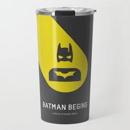 Flat Christopher Nolan movie poster Travel Mug