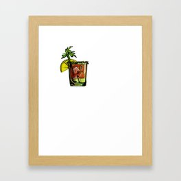 Drinking Sunday We Bloody Mary Framed Art Print
