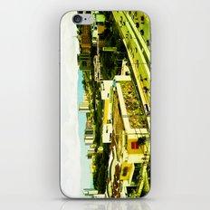 A warm city. iPhone & iPod Skin