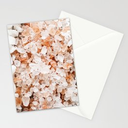 Healing Spa Salts Stationery Cards