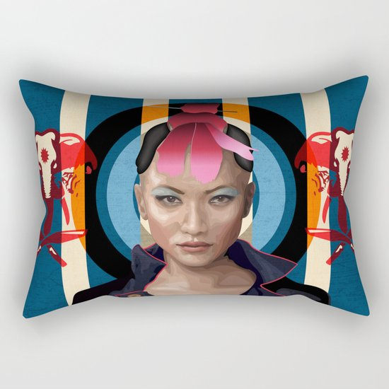 Queen of Darkness Far Cry 4 -  Yuma Rectangular Pillow