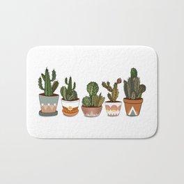 Potted Cacti Bath Mat