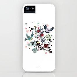 owl and lark iPhone Case