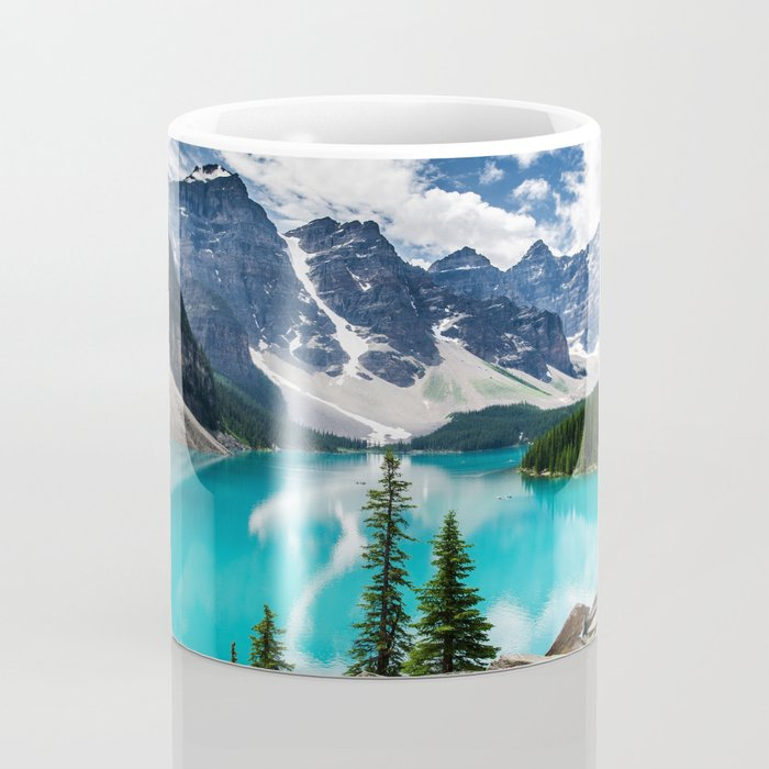Lake Moraine Banff Coffee Mug
